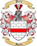 Periz Family Crest from Spain