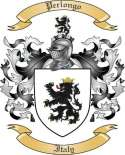 Perlongo Family Coat of Arms from Italy