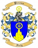 Perona Family Crest from Italy