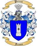 Perras Family Coat of Arms from France