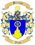 Perrone Family Coat of Arms from Italy2