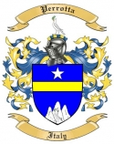 Perrotta Family Coat of Arms from Italy