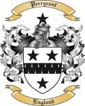 Perrycost Family Coat of Arms from England