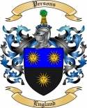 Persons Family Crest from England