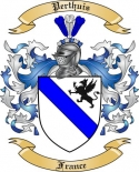 Perthuis Family Crest from France