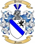 Pertus Family Coat of Arms from France