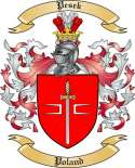 Pesek Family Crest from Poland