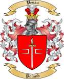 Pesko Family Crest from Poland