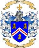 Pestre Family Coat of Arms from France