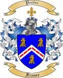 Pestre Family Crest from France