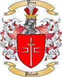 Pesz Family Crest from Poland