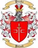 Peszka Family Crest from Poland