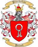 Peterkofski Family Coat of Arms from Poland
