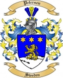 Petersen Family Coat of Arms from Sweden2