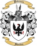 Petersen Family Crest from Sweden