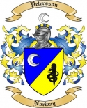 Petersson Family Coat of Arms from Norway