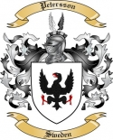 Petersson Family Coat of Arms from Sweden