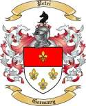 Petri Family Crest from Germany2