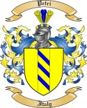 Petri Family Crest from Italy2