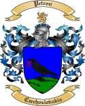 Petron Family Crest from Czechoslovakia