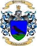 Petronchak Family Crest from Czechoslovakia