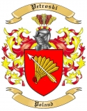 Petroski Family Coat of Arms from Poland