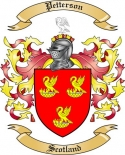 Petterson Family Crest from Scotland2