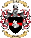 Pettry Family Coat of Arms from Germany
