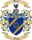 Pezzi Family Crest from Italy