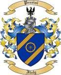 Pezzini Family Coat of Arms from Italy