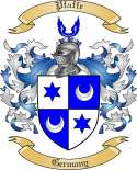Pfaffe Family Crest from Germany2
