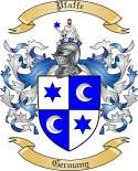 Pfaffe Family Coat of Arms from Germany