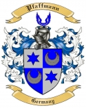 Pfaffmann Family Crest from Germany