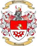 Pfannmiller Family Crest from Germany