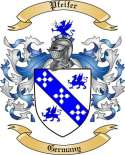 Pfeifer Family Crest from Germany
