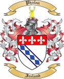 Phalen Family Crest from Ireland