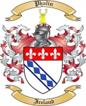 Phalin Family Coat of Arms from Ireland