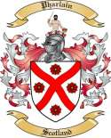 Pharlain Family Coat of Arms from Scotland