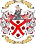 Pharlan Family Crest from Scotland