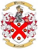 Pharlin Family Crest from Scotland1