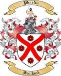 Pharlin Family Crest from Scotland