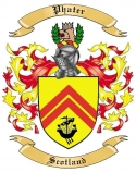 Phater Family Crest from Scotland
