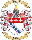 Phelan Family Crest from Ireland