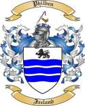 Philben Family Crest from Ireland