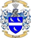 Philcox Family Crest from England