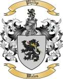 Philip Family Crest from Wales2