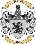 Philipes Family Crest from Wales2