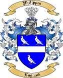 Philippes Family Crest from England