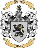 Phillipes Family Crest from Wales2