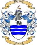 Phillips Family Coat of Arms from Ireland